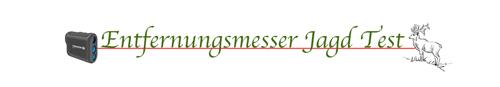Entfernungsmesser Jagd Test Logo